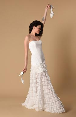 wedding dress saint honore paris