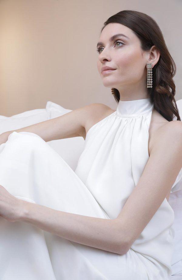 Bridal dazzling earrings - Love Is Like A Rose Paris