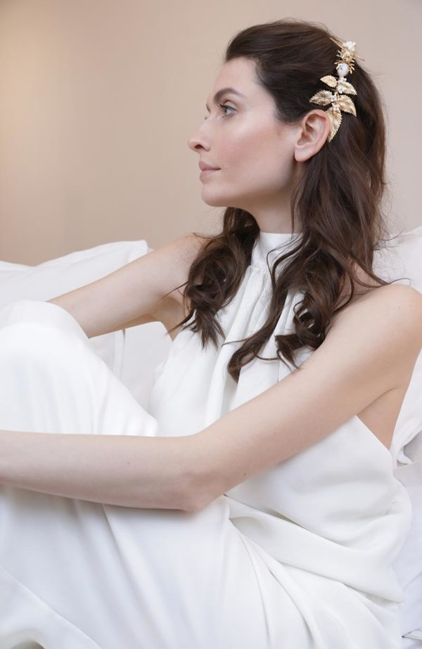 Decorative Bridal Hair Comb - Love Is Like A Rose Paris