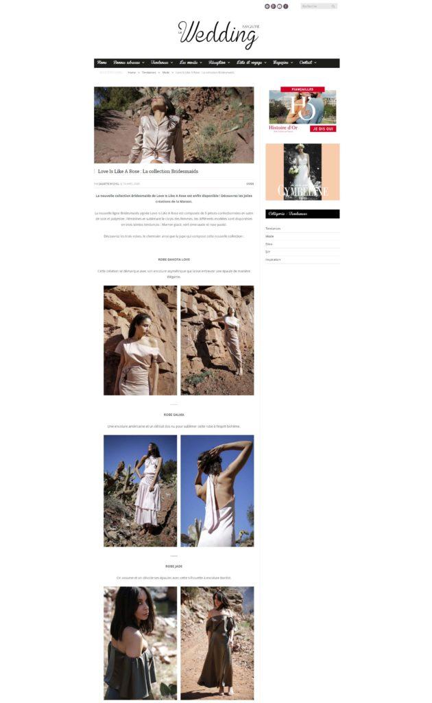 Wedding Magazine avril-2020