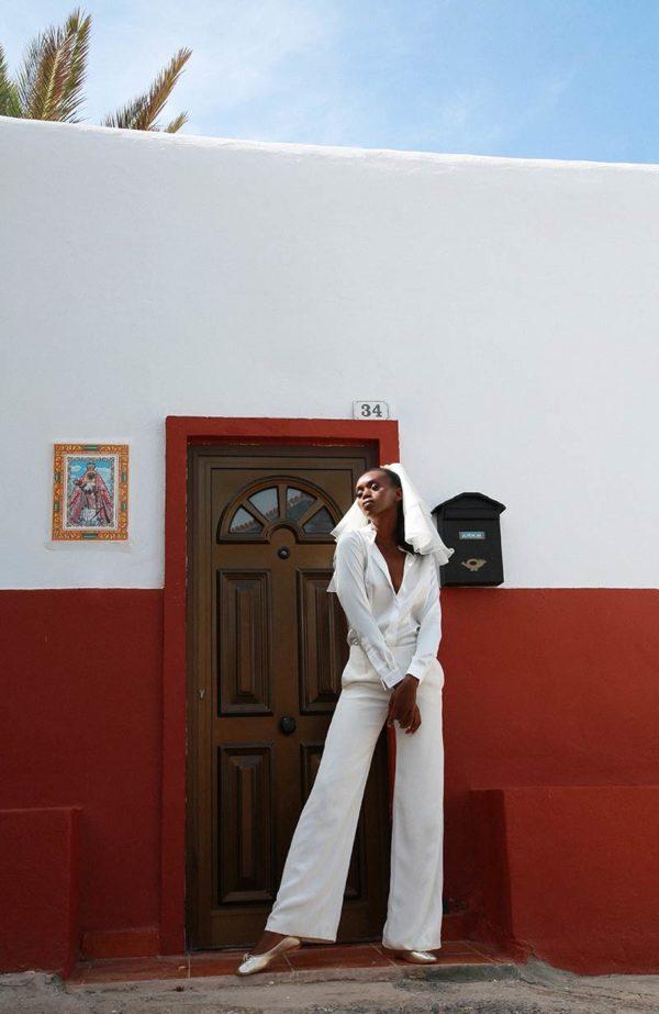 Ide and fluid bridal pants - Love Is Like A Rose Paris